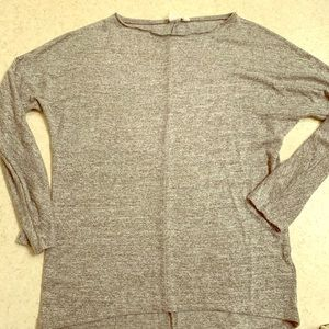 Women's GAP Long Sleeve Grey Top